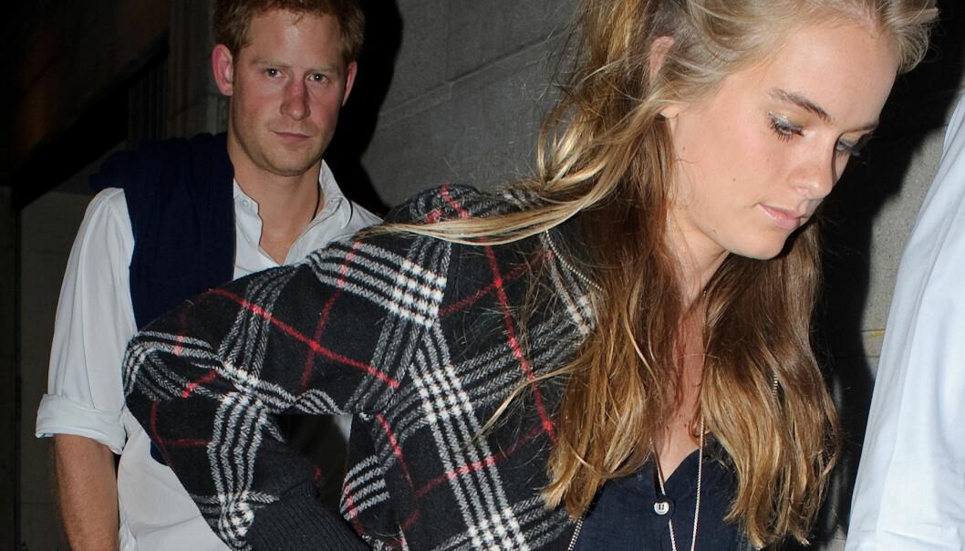 SAMMEN: Harry og Cressida møttes i 2012, og gikk hver til sitt to år senere. Foto: NTB Scanpix