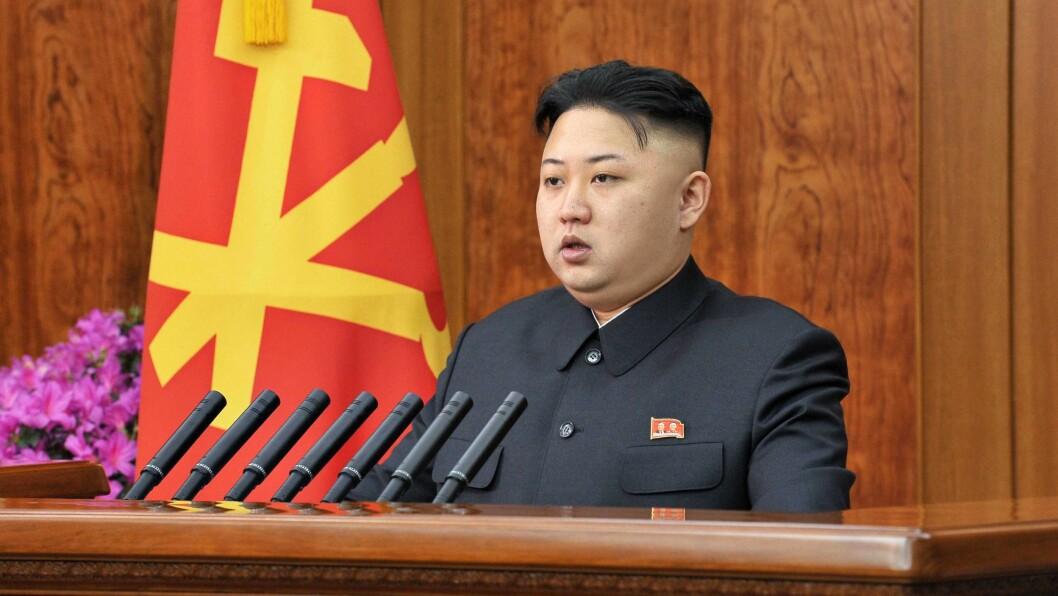 HÅRKUTT: Kim Jong Uns hårsveis med barberte sideparti blir nå innført i hele Nord-Korea. Foto: IMAGO/ All Over Press