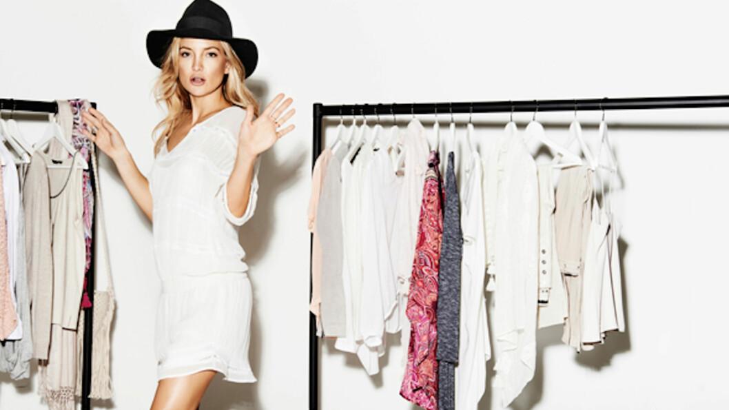 MUSE: Den svenske kleskjeden Lindex har hanket inn Hollywood-stjernen Kate Hudson til å fronte årets vår- og sommerkolleksjon.  Foto: Lindex / THIS IS PR