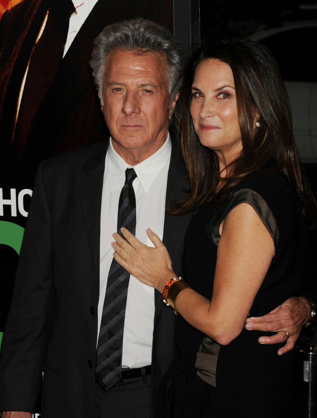 29 ÅR: Dustin Hoffman (73) og Lisa Gottsegen (57) har fått fire barn sammen.  Foto: All Over Press