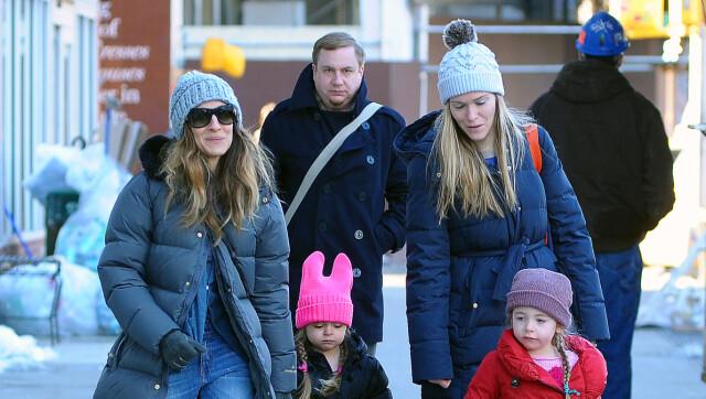 80a9c675 ET LITE STYKKE NORGE: Da Sarah Jessica forrige uke var ute sammen med barna  i