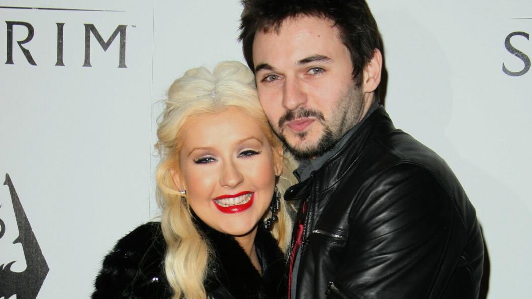 GIFTEKLARE: Christina Aguilera og Matt Rutler møttes under innspillingen av filmen «Burlesque» i 2010. Nå skal de gifte seg.  Foto: All Over Press