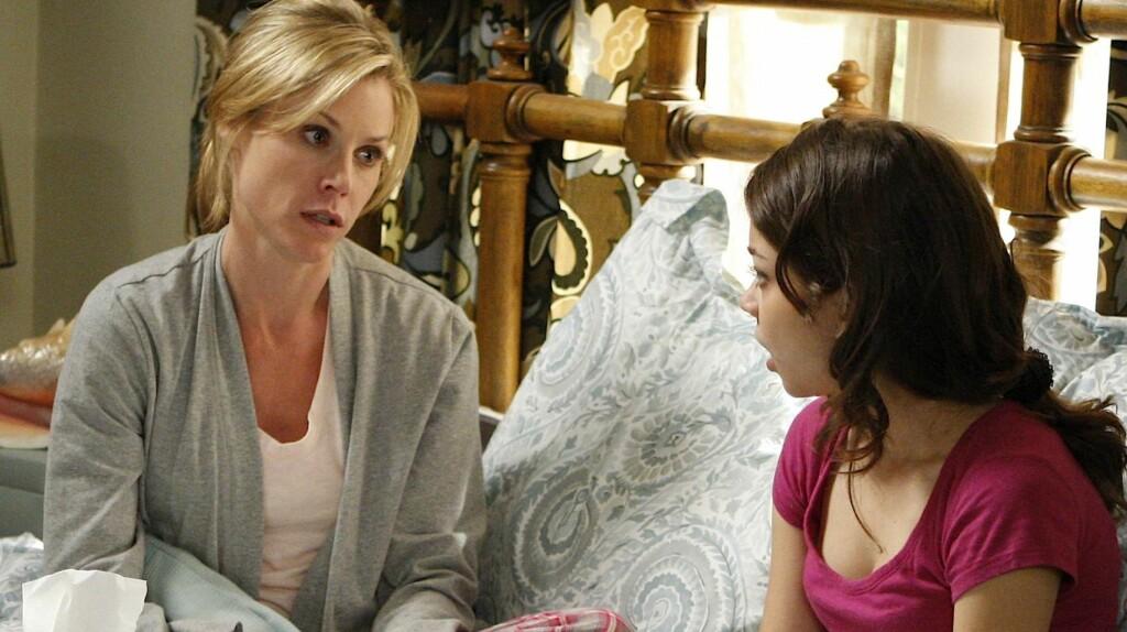 POPULÆR: Sarah Hyland gjør for tiden stor suksess i TV-serien «Modern Family» - som her til lands sendes på TV 2. Foto: TV 2