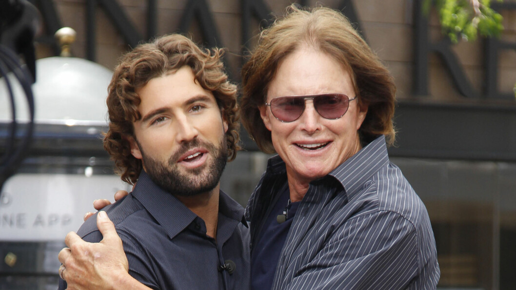 PAR-PROFET: Brody Jenner, her med pappa Bruce, tror at halvsøster Kendall Jenner ikke er klar for noe seriøst forhold.   Foto: FameFlynet