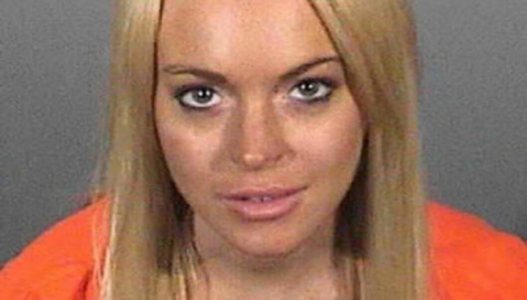 I BITER: Sangeren mener berømmelsen ble for mye for Lindsay Lohan. Skuespilleren har vært inn og ut av rehab i en årrekke. Foto: All Over Press