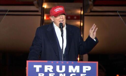 image: Donald Trump: - Hun blir beskyttet av et rigget system