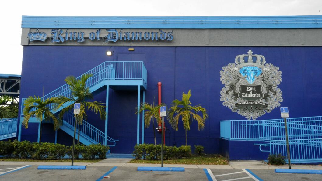 VERDENS KJENT: Strippeklubben i Miami er ifølge TMZ en av verdens mest kjente herreklubber.Tidligere denne uken skal Justin Bieber ha svidd av hele 450 000 kroner der. Foto: Jason Winslow / Splash News/ All Over Press