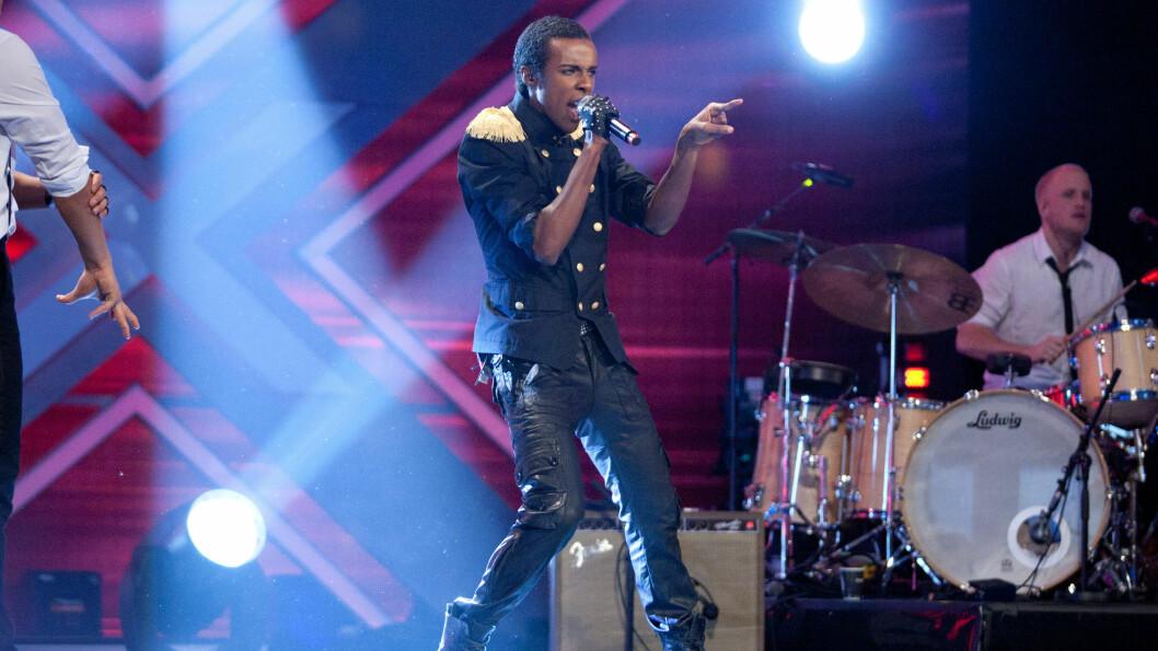 PÅ SCENEN: «Mo» en av de mest populære deltagerene i talentkonkurransen «X Factor» på TV 2. Foto: Stella Pictures