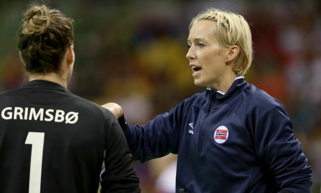 KAN BLI VRAKET: Ekspertene tror ikke Katrine Lunde får delta i håndball-EM. Foto: Vidar Ruud / NTB scanpix