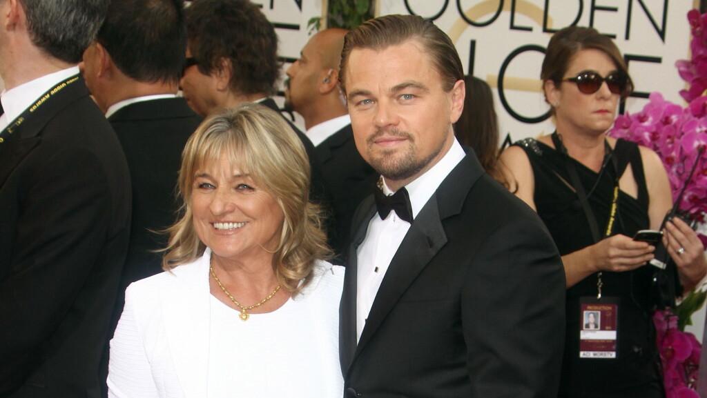 JENTEFUT: DiCaprio fikk høre om sin voldsomme appetitt for supermodeller under natten Golden Globes.   Foto: FameFlynet