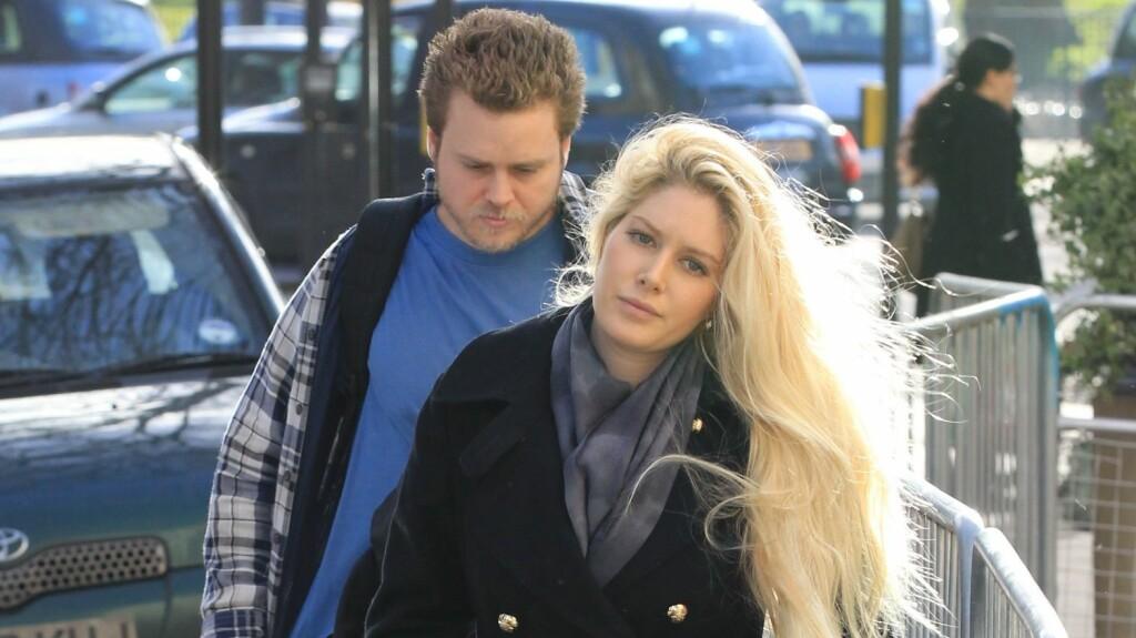 KIRKEROTTER: Heidi Montag og Spencer Pratt har ikke lenger råd til å leve luksuslivet de er vant til. Paret sølte bort 60 millioner kroner etter «The Hills»-suksessen.  Foto: REX/Beretta/Sims/All Over Press