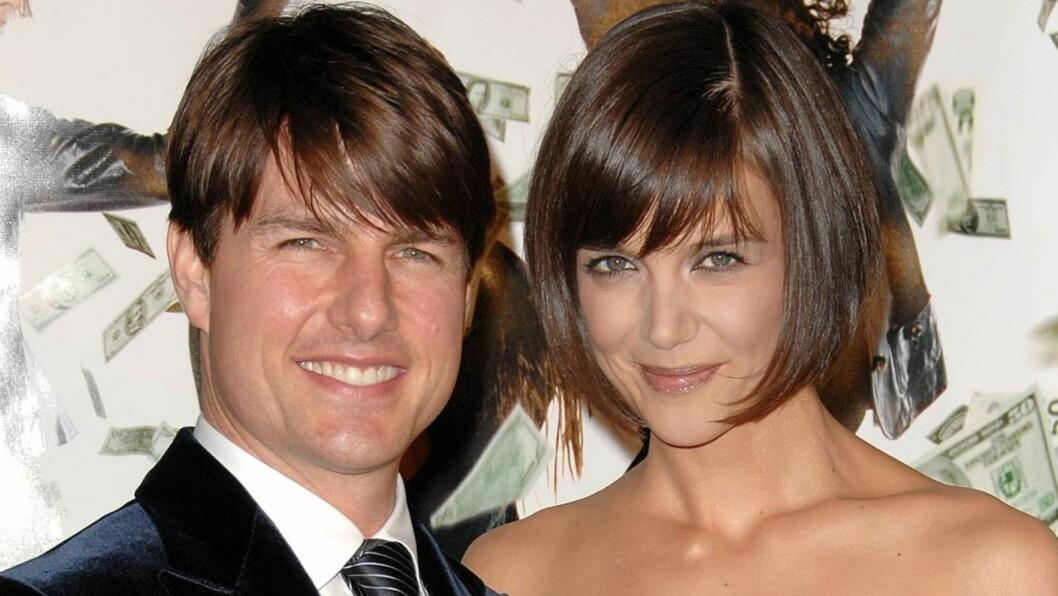 SAVNER KATIE: Ifølge National Enquirer kan det gå mot en gjenforening av Tom Cruise og Katie Holmes Foto: All Over Press