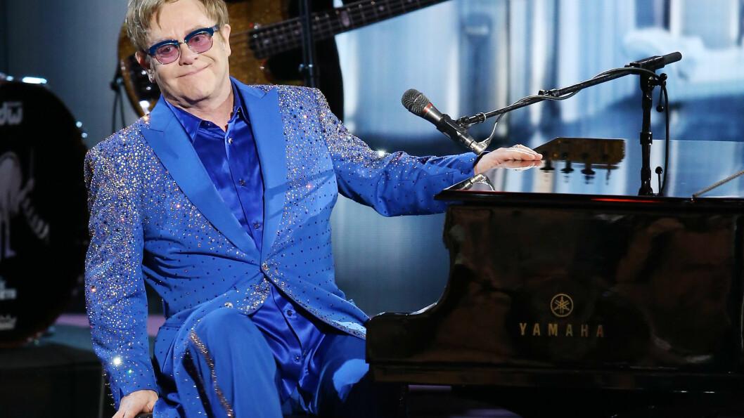 POPSTJERNE: Sir Elton John har fått sin kjendisstatus med hits som «Your Song» og «Don't Let the Sun Go Down on Me». Foto: FilmMagic/Getty Images/All Over Press