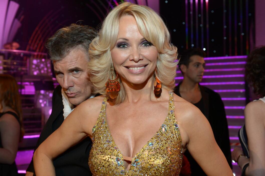 VIL DANSE MER: Linda Johansen og Jarl Goli fikk kjærlighetssorg etter at de måtte forlate «Skal vi danse». Foto: FameFlynet Norway