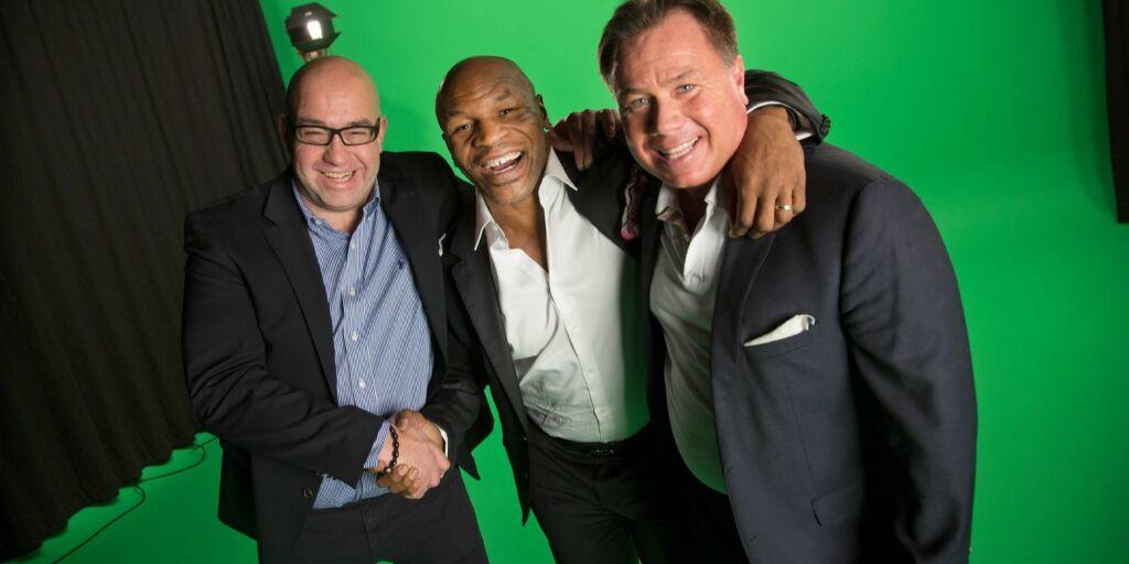 image: Kapret Mike Tyson til norsk reklamefilm