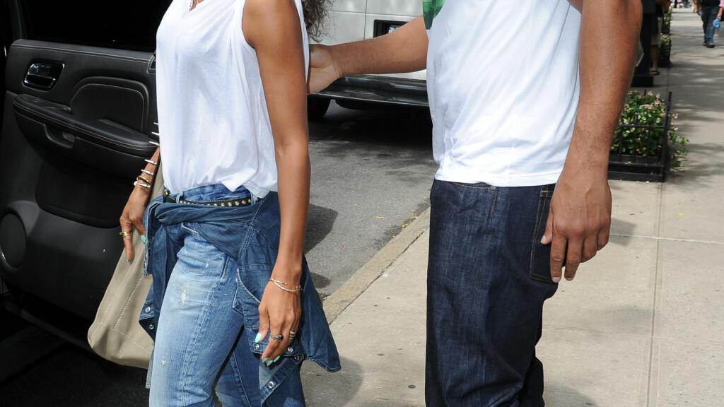 DET SISTE BILDET: Jada Pinkett Smith og Will Smith har ikke blitt fotografert sammen siden dette bildet ble tatt i slutten av august. Foto: Doug Meszler / Splash News/ All Over Press