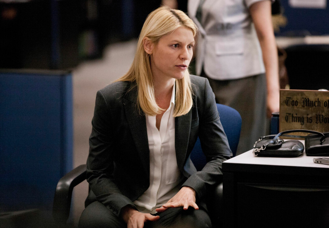 HOMELAND-STJERNE: Claire Danes har gjort stor suksess i TV-serien Homeland. Foto: Showtime Networks Inc./Everett Collection/All Over Press