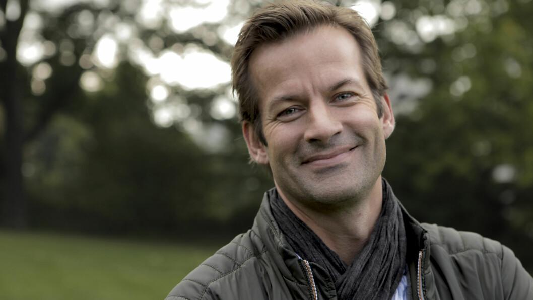 <strong>NOMINERT:</strong> Jon Almaas er en av ti kandidater som er nominert til «Årets TV-navn». Foto: NRK