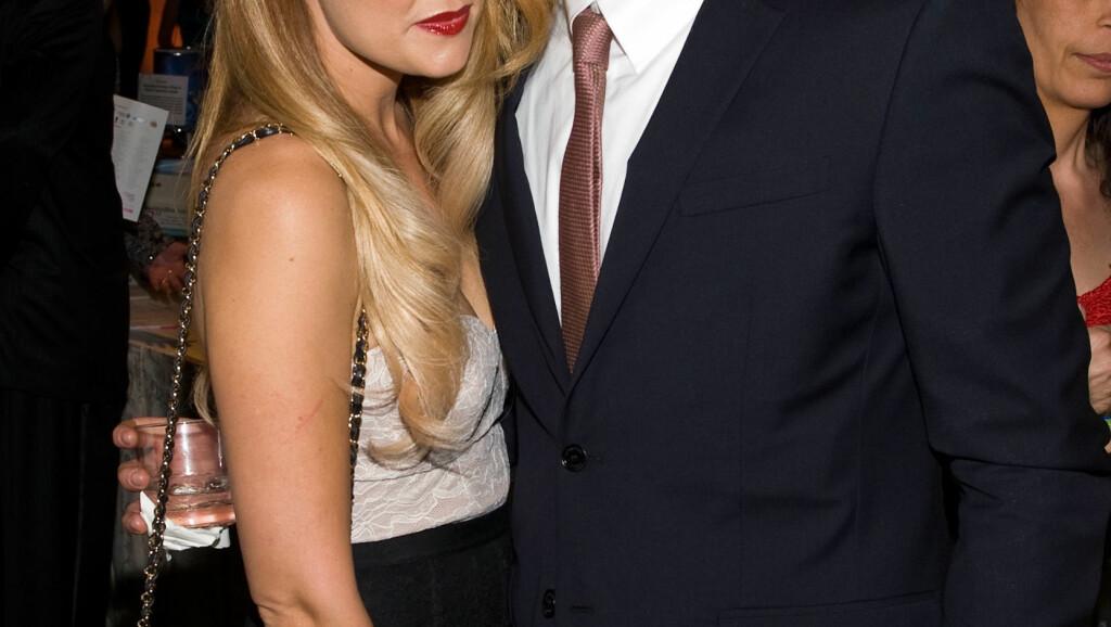 BLIR MANN OG KONE: Lauren Conrad gleder seg til å gifte seg med jusstudenten William Tell. Foto: All Over