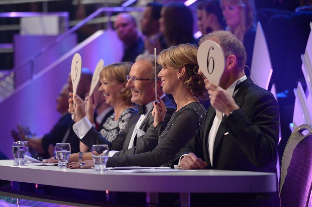 GOD RESPONS: Kathrine har begeistret dommerne som har gitt henne svært gode tilbakemeldinger. Foto: FameFlynet