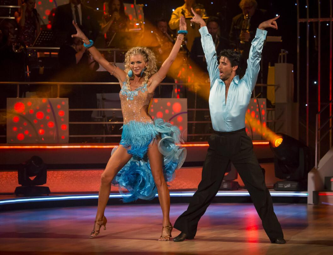 DANSE-SKRYT: Kathrine Sørland er for tiden en av deltagerne i «Skal vi danse» på TV 2. Flere har utropt henne som en av favorittene til å vinne konkurransen. Foto: Se og Hør, Tor Lindseth