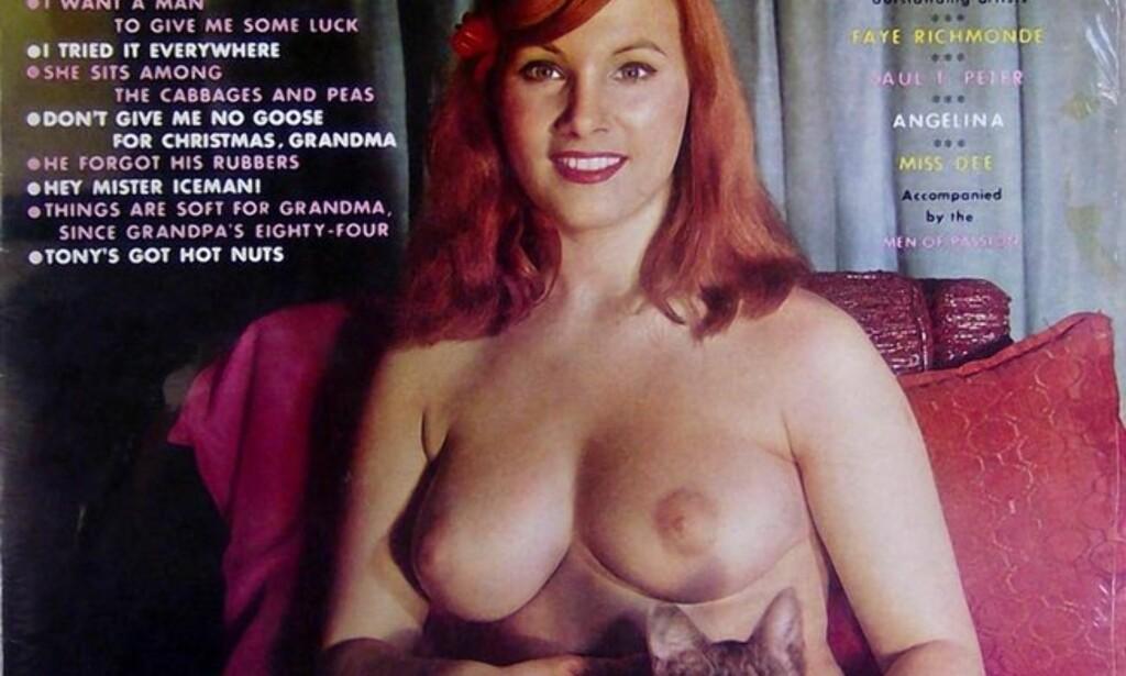 FOR DRØYT: Dette coverbildet ble for drøyt for Facebook - selv når det ble croppet før visning på fronten på Facebook. Foto: Platecover «My Pussy Belongs to Daddy».