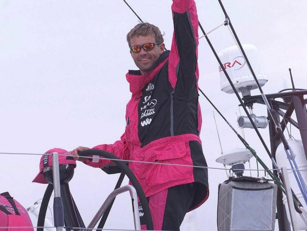 SEILER: Knut Frostad er en aktiv seiler og har flere ganger deltatt i Volvo Ocean Race /Whitbread.  Foto: SCANPIX