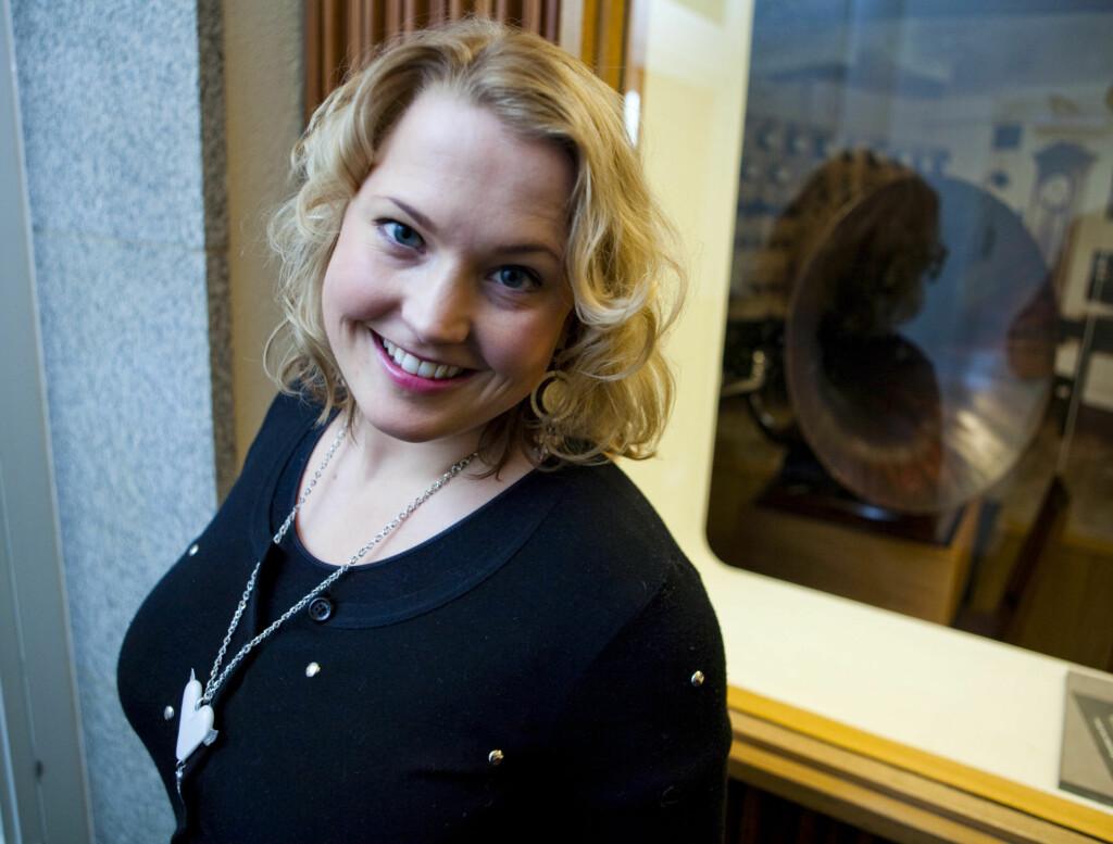 FAVORITT: Bookmakerne hos Bet24 og Unibet har Helene Bøksle som sin soleklare favoritt foran lørdagens første MGP-delfinale.  Foto: Per Ervland / Seher.no