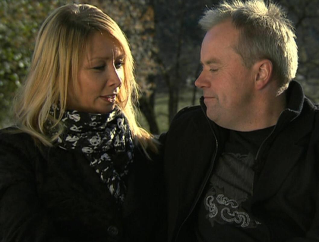 DUMPET JOSTEIN: Mari Edvardsen endte opp som jakten-bonde Jostein Sundbys utvalgte i høsten sesong av «Jakten på kjærligheten», men dumpet bonden i slutten av programmet.  Foto: TV 2
