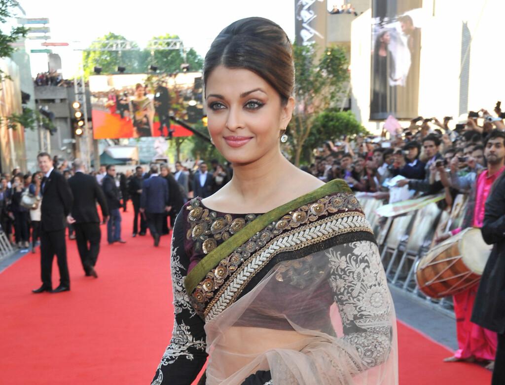 STJERNE: Aishwarya Rai Bachchan er stor stjerne i India, og har tidligere vært kåret Miss World.  Foto: All Over Press