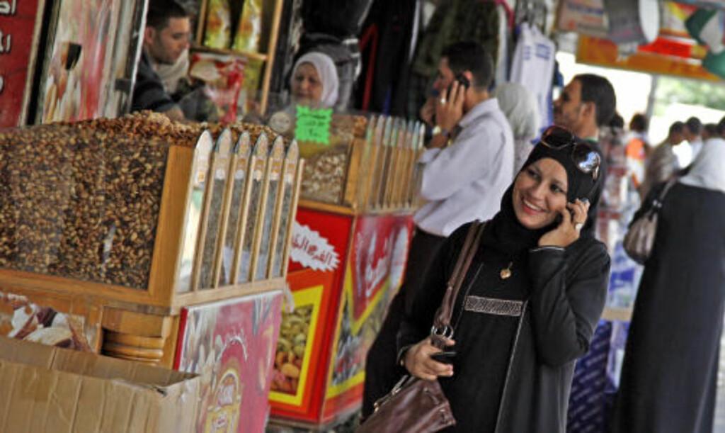 ONLINE: Jordan er på mange måter et moderne land, med høyt utdanningsnivå. Kvinner er absolutt synlige i gatebildet og utenlandske kvinner får stort sett gå i fred.