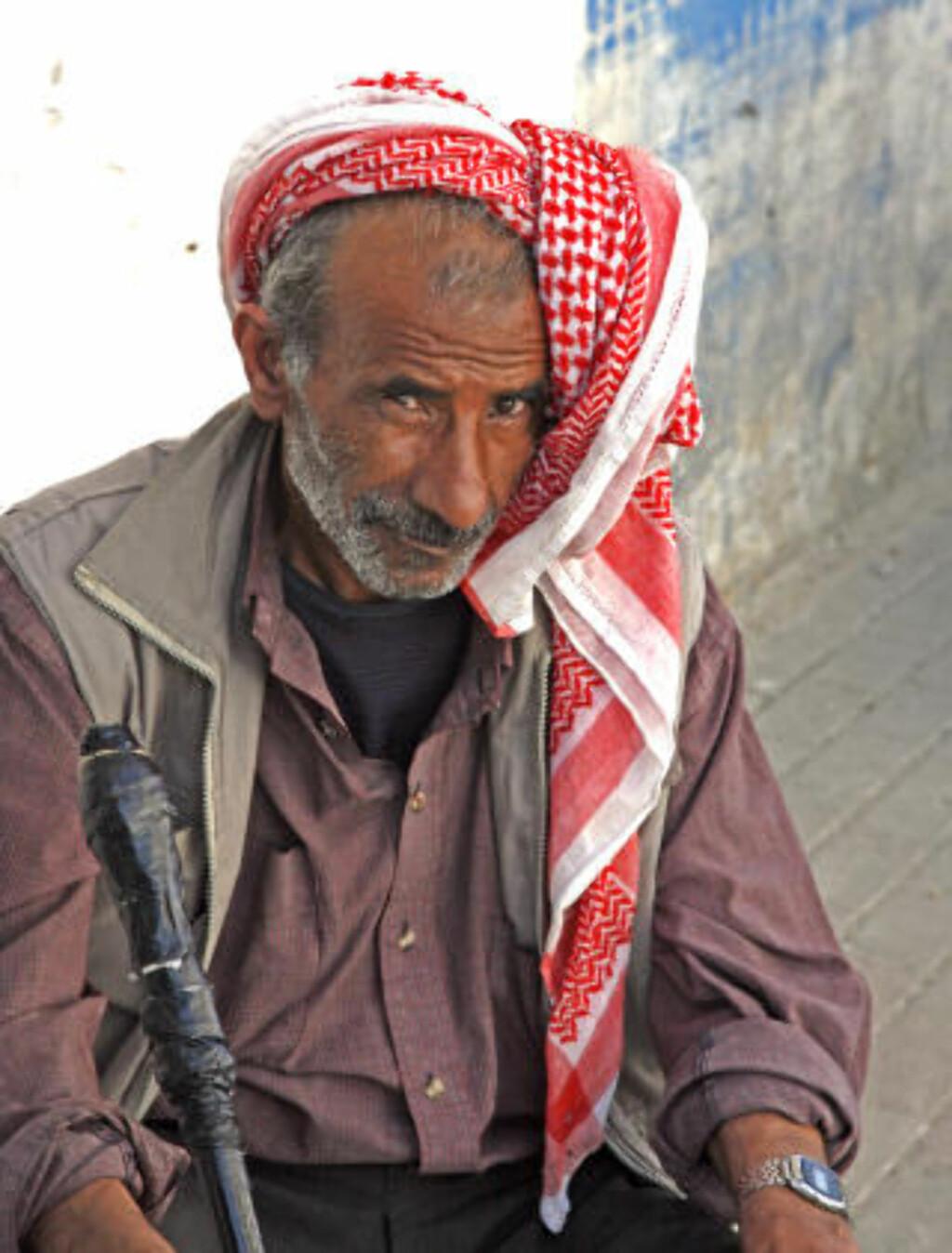 KULTUR: Overalt i Jordan møter du mennesker som både er vennlige og nysgjerrige på fremmedfolk.