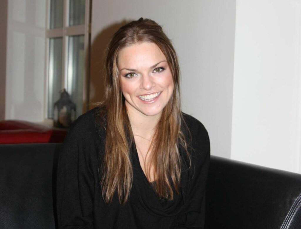IKKE SEXY: Anine Stang ble kåret Norges tredje mest sexy single kvinne av ukebladet Se og Hørs lesere i forrige uke. Selv synes hun imidlertid ikke hun er så sexy.  Foto: Adéle C. Blystad/Seher.no