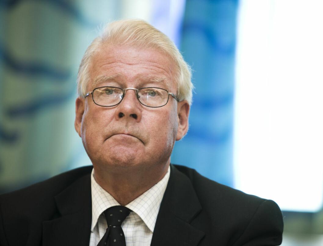 «SV-HØNER»: I sin nye debattbok «Klar Tale» tar tidligere Frp-formann Carl I. Hagen et kraftig oppgjør med det han kaller «SV-hønene».  Foto: SCANPIX