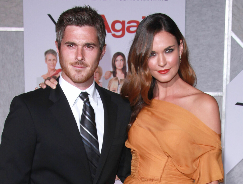 GIFT: Dave Annable og Odette Yustman giftet seg i Ojai, nord for LA, i helgen.  Foto: All Over Press