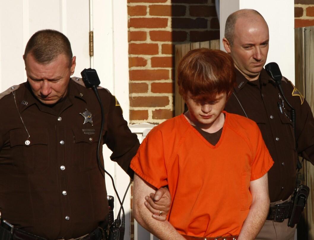 DØMT TIL LIVSSTID: Andrew Conley, som kvalte lillebroren sin til døde og dumpet ham i en park, ble dømt til livsstid i fengsel tidligere denne uken.  Foto: AP