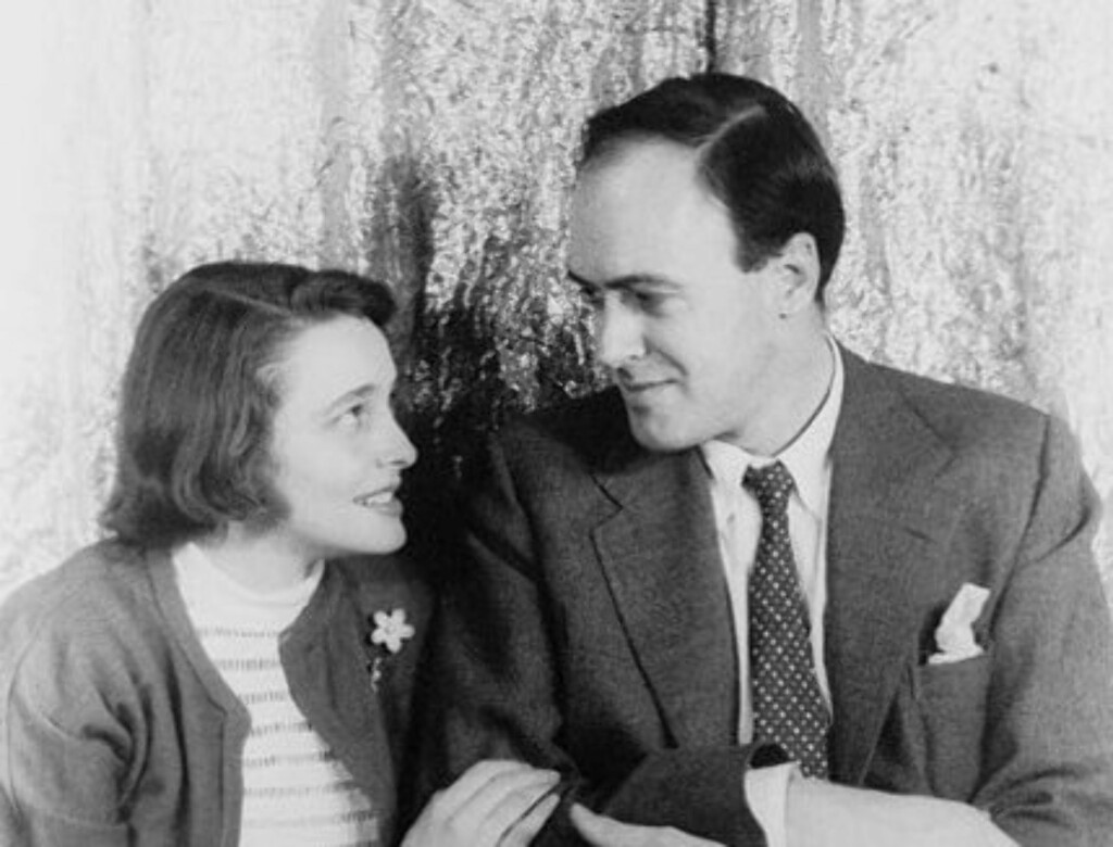 VAR GIFT: Patricia Neal var i 30 år gift med norskættede Roald Dahl. Søndag døde hun av lungekreft.
