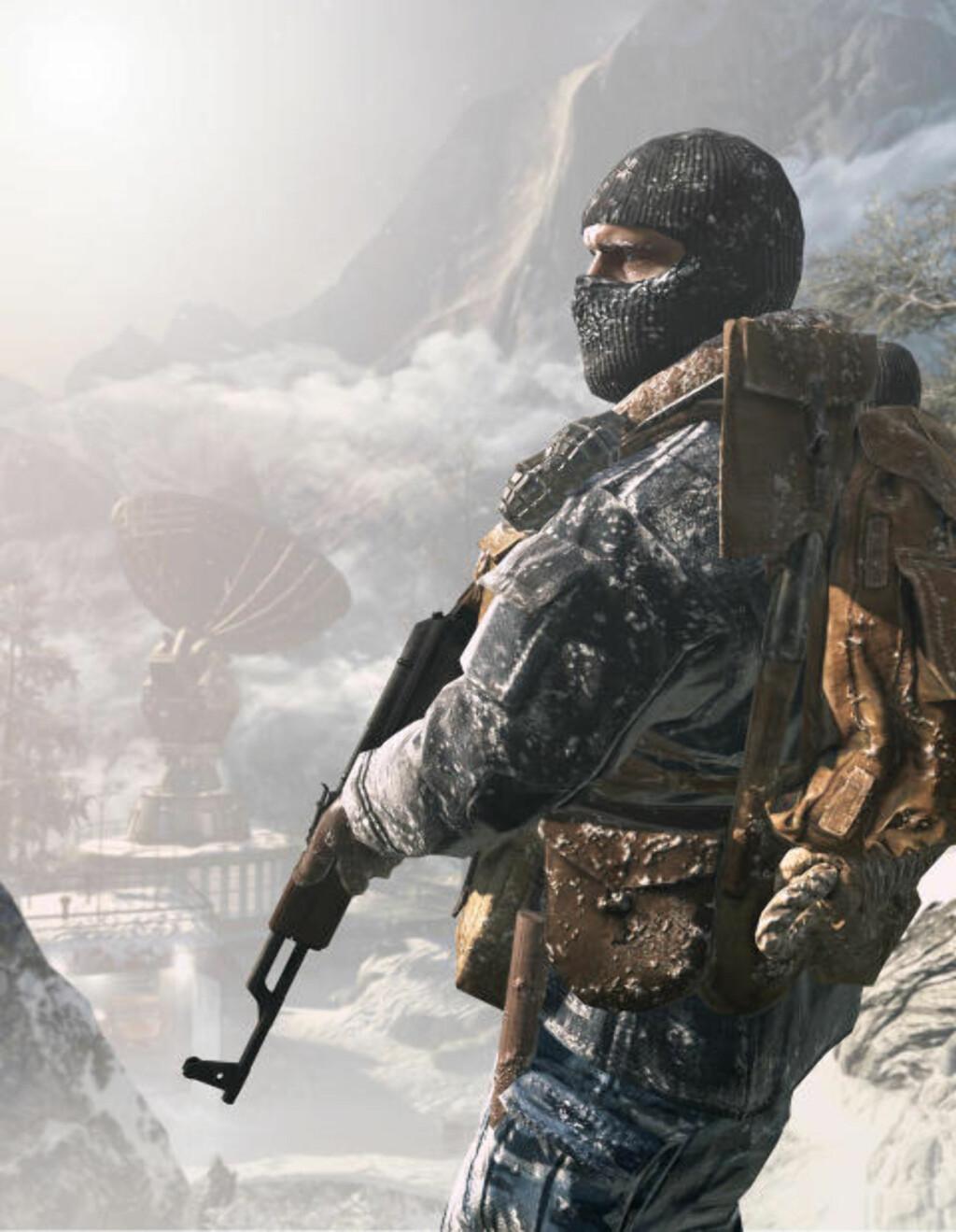 SPETSNAZ: Utviklerne bak «Call of Duty: Black Ops» fikk hjelp av flere eksmilitære, blant annet en eks-spetsnaz som kunne fortelle litt av hvert.