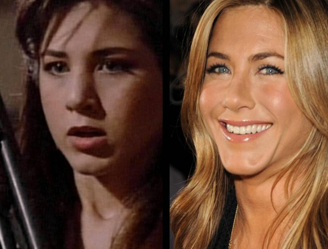 <strong>OPERERT NESEN:</strong> Superstjernen Jennifer Aniston er blant kjendiskvinnene som har fått rettet på nesen.  Foto: All Over Press