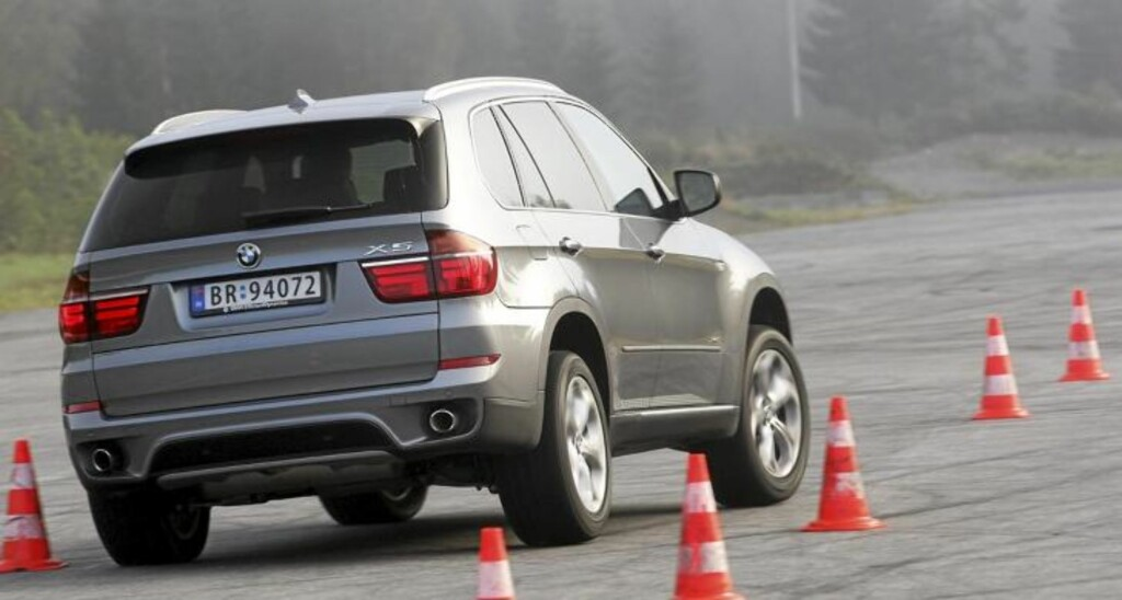 TESTET: BMW X5 d. FOTO: Egil Nordlien HM Foto