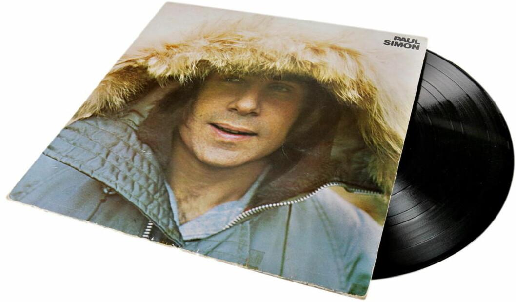 <strong>EVIGGRØNN:</strong> Paul Simon er, i likhet med så mange andre, aller best på vinyl. Dette eksemplaret tilhører tidligere Beezewax-vokalist Kenneth Ishak. Foto: KRISTIAN RIDDER-NIELSEN/Dagbladet