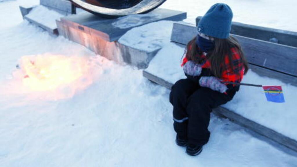 SOM OFTE TEMMELIG KALDT : Det er ikke uvanlig at det er kaldt i Karasjok. Arkivfoto: Lise Åserud / SCANPIX.