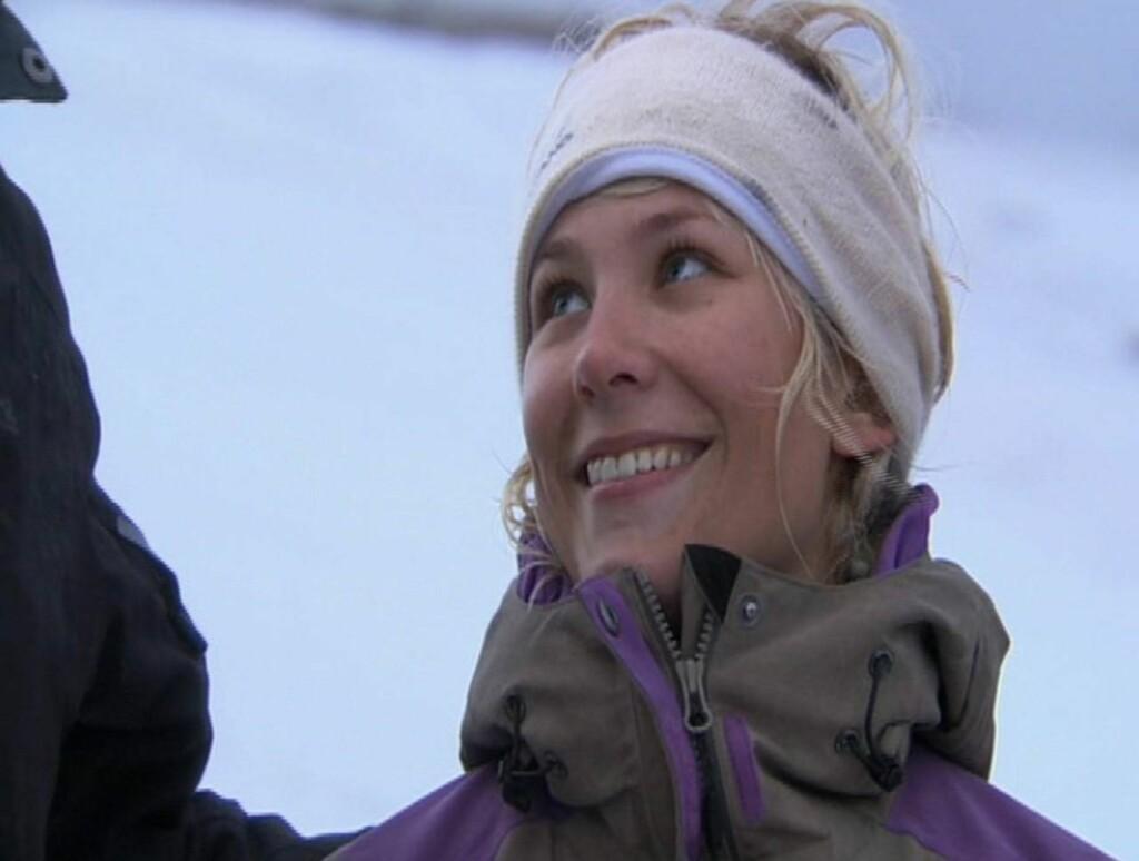 MÅTTE HJEM: Etter en tøff duell var det Minken Tveitan som ble førstemann til å reise hjem fra «71 grader nord».