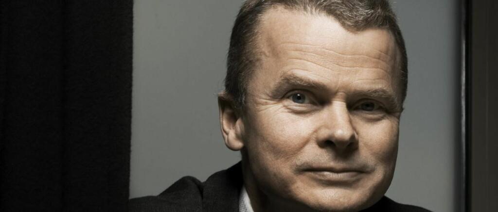 OPPOVER: Sjefredaktør i Dagbladet, Lars Helle, gleder seg over at avisa har snudd nedgang til oppgang. Foto: Jørn H. Moen / Dagbladet