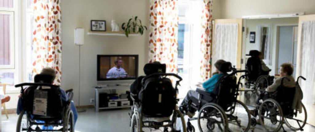 POPULÆRT: Mange eldre over 60 følger Trekant på NRK. Illustrasjonsbilde:  Gorm Kallestad  / SCANPIX