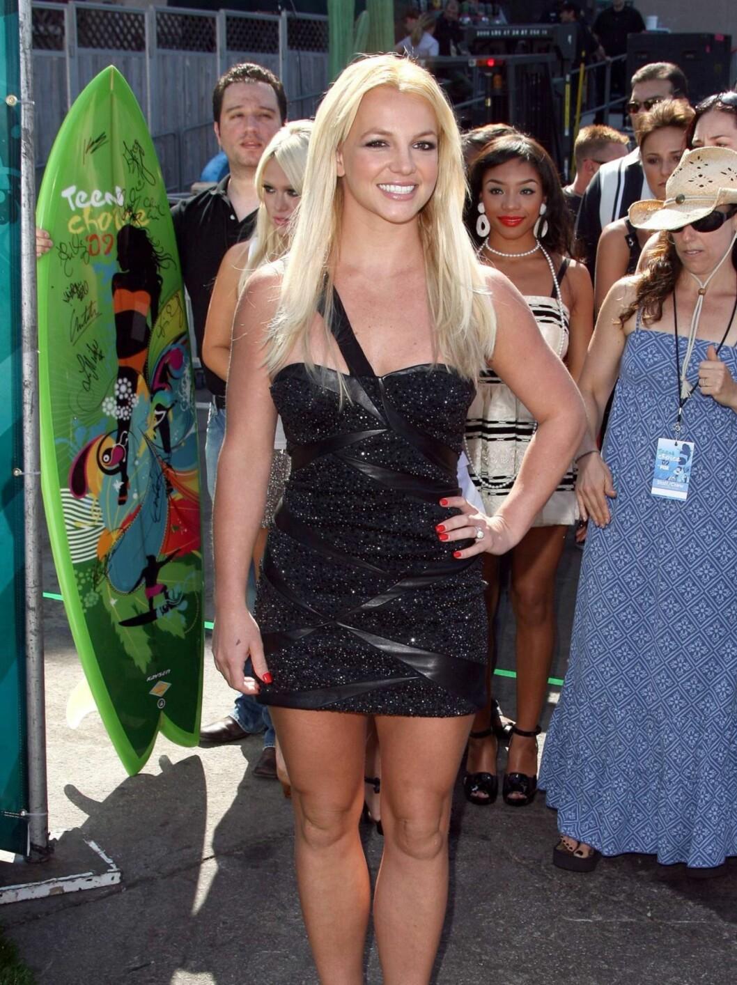 FLOTT: Popprinsessen Britney Spears var i storslag søndag kveld. Foto: Stella Pictures