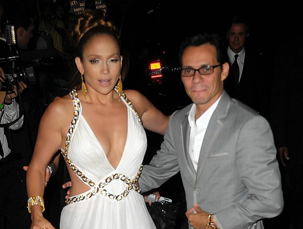 RASENDE: Jennifer Lopez skal ha blitt rasende da gjestene kom sent til bursdagsfeiringen hennes lørdag.  Foto: All Over Press