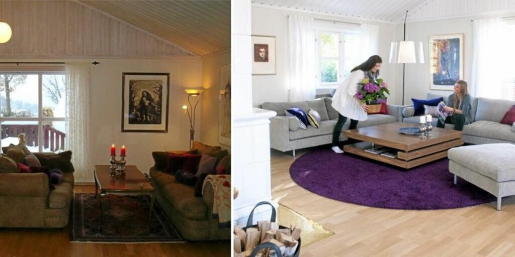Ny stue med ekspertenes hjelp - Dagbladet