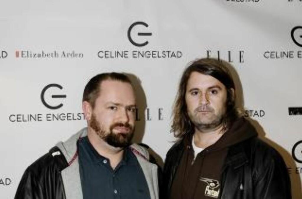 GODE VENNER: Asbjørn Slettemark og Thomas Seltzer. Foto: Scanpix