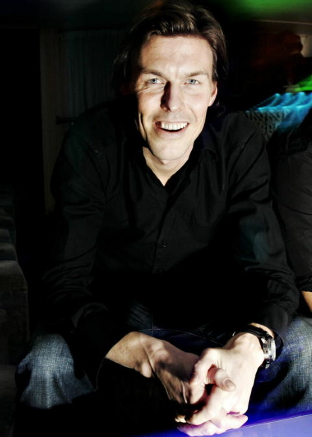KLAR TALE: Bo Vivike (37) eier en rekke utesteder i Oslo og sier klart i fra hva han mener om klientellet på stedene. Her er han på klubben Stravinsky  i Rozenkrantzgate Foto: Frank Karlsen / Dagbladet